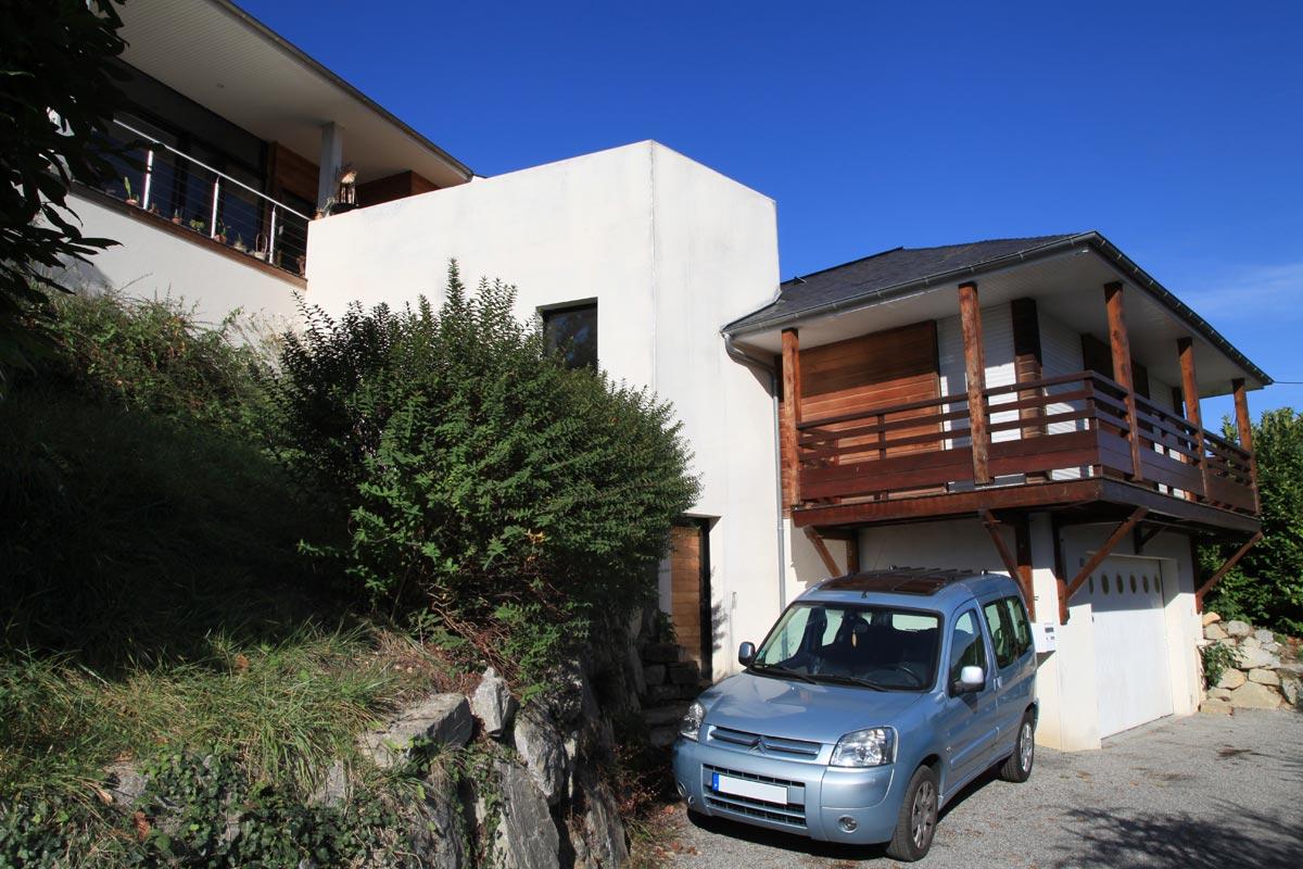 Extension / rénovation de maison à Nay