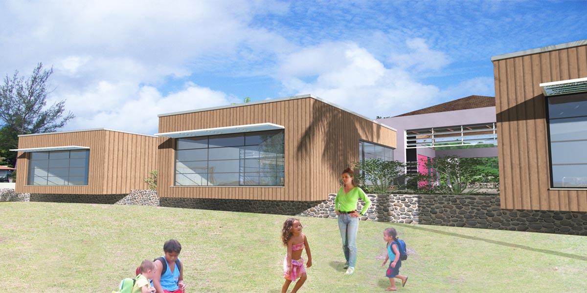 Ecole de Avera – Ile de Raiatea – Polynésie