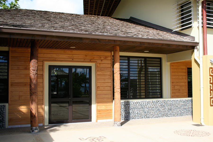 Mairie de Hakahauµ – Ua Pou Polynésie