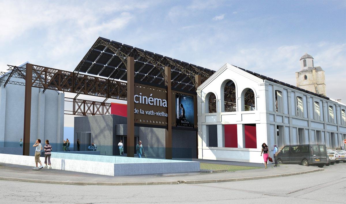 Urbanisme et cinéma Réabilitation des halles Berchon
