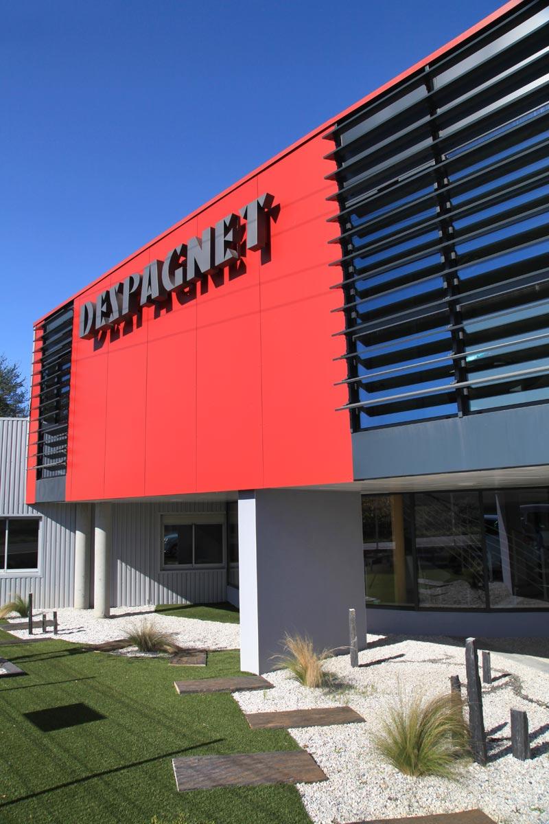 Restructuration et extension des locaux de la SA Despagnet