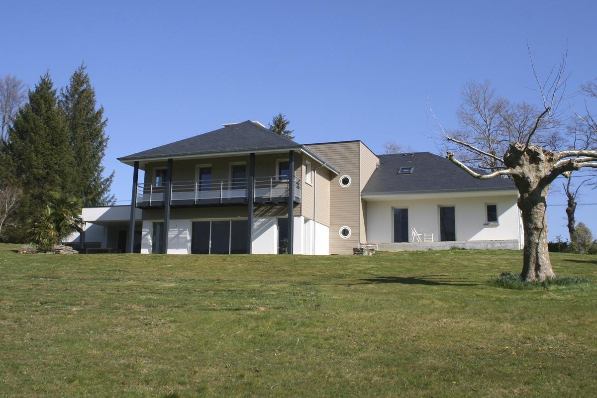 Maison d'habitation neuve Vallée de Nay