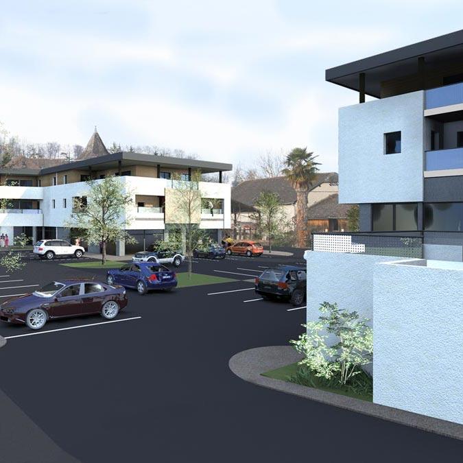 Logements despr agence d 39 architecture for Agence logement