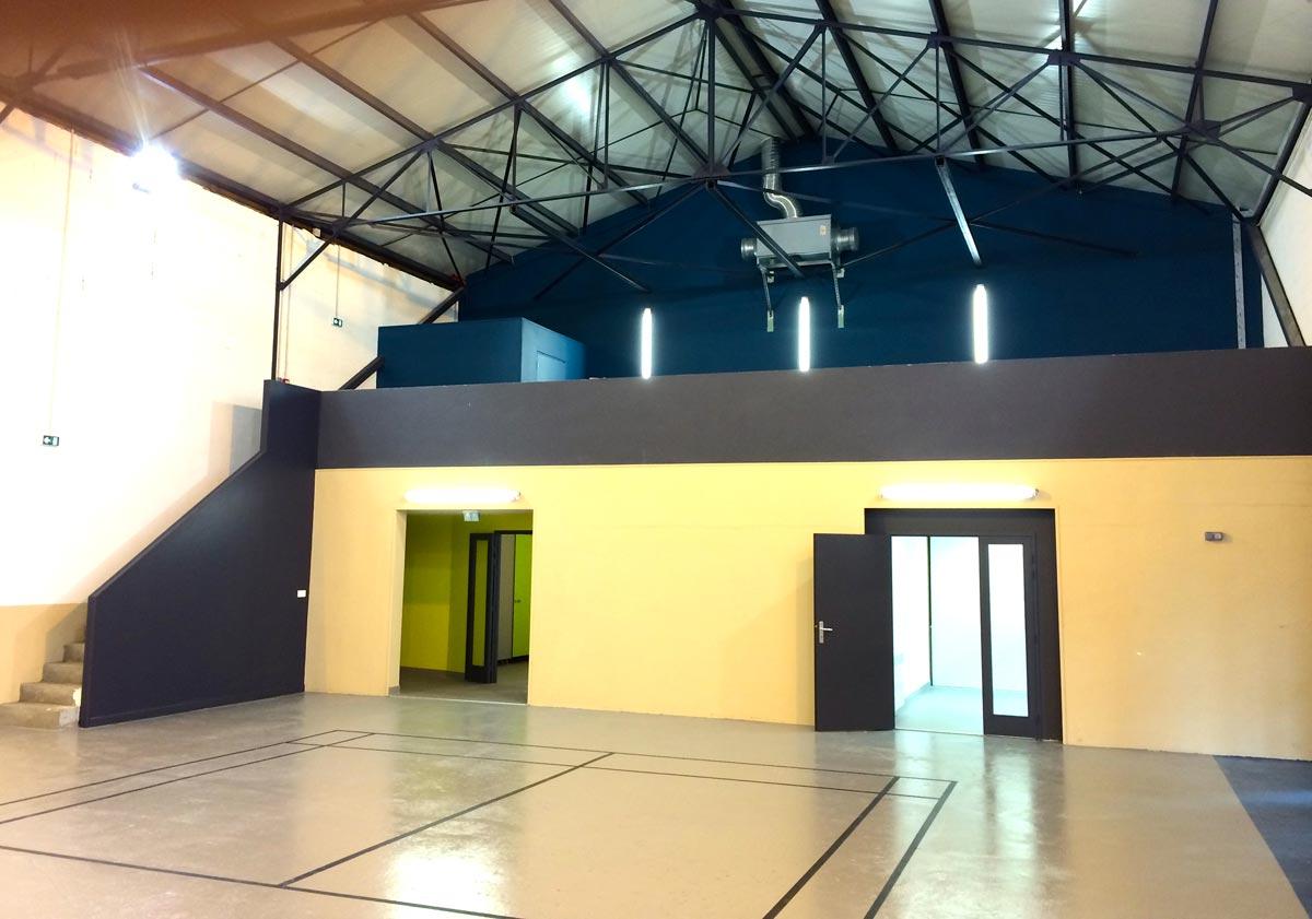 Salle de sport de Baudreix