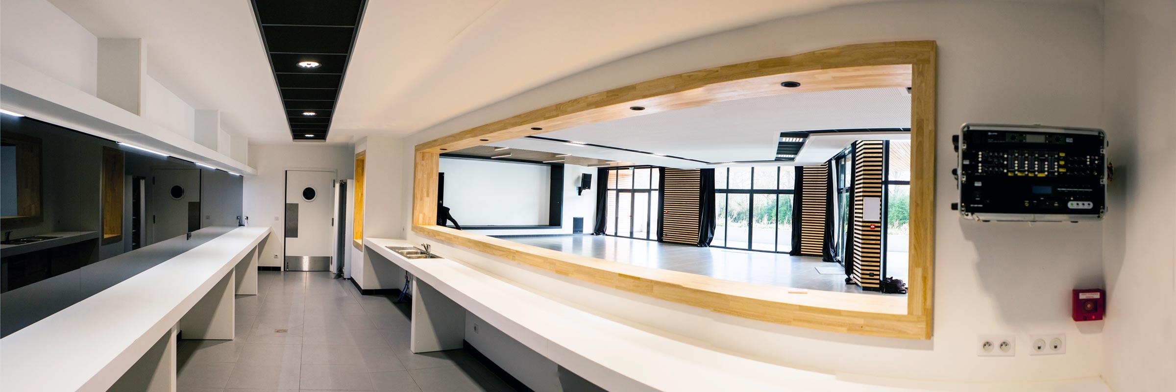 Projet architecture Salle de réception à Bruges (64)