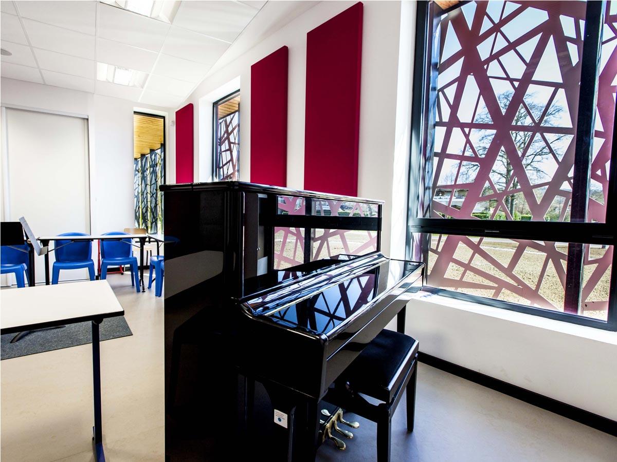 Maison de la Musique de la communauté des communes des Luys en Béarn