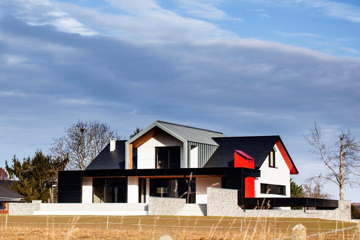 Rénovation de maison à Asson (64)