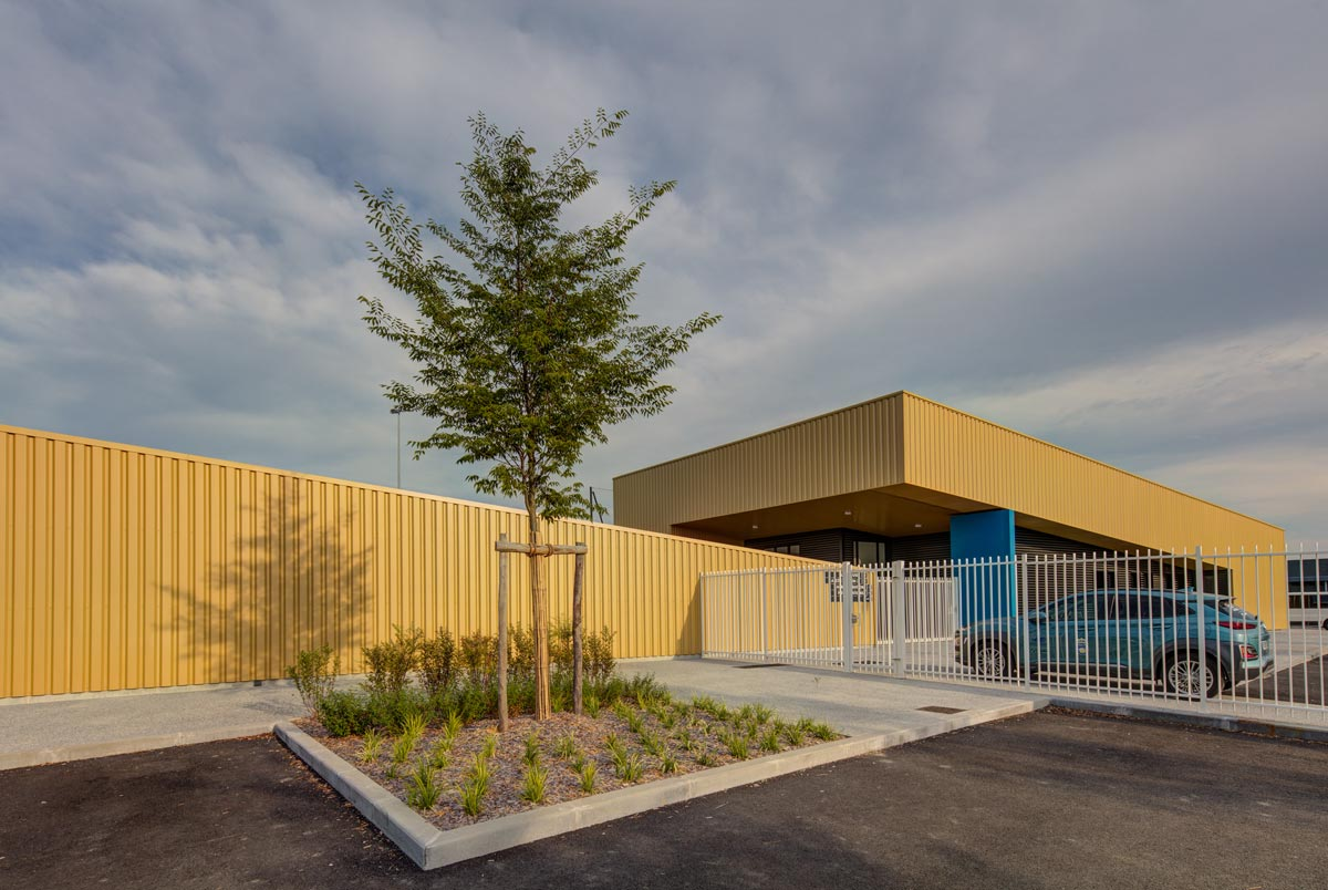Construction d'un Stade de football à Pau  – Despré architecte