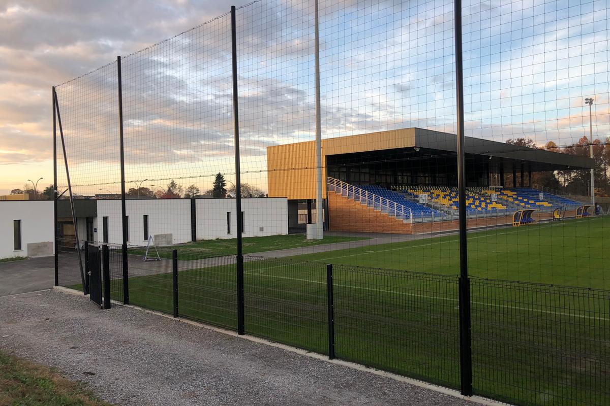 Stade football Pau