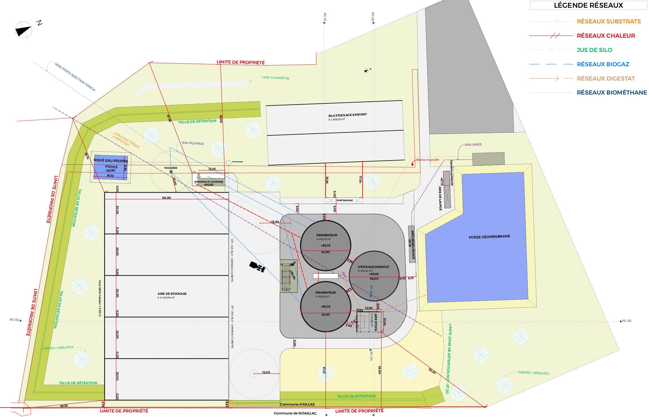 Despré Agence d'Architecture – Unité de Méthanisation à Aillas (33)
