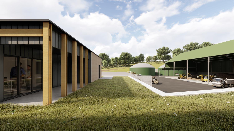 Despré Agence d'Architecture – Unité de Méthanisation à Orin (64)
