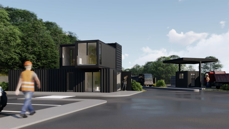 Despré Architectes – Ecopôle Pau-Est à Meillon (64)