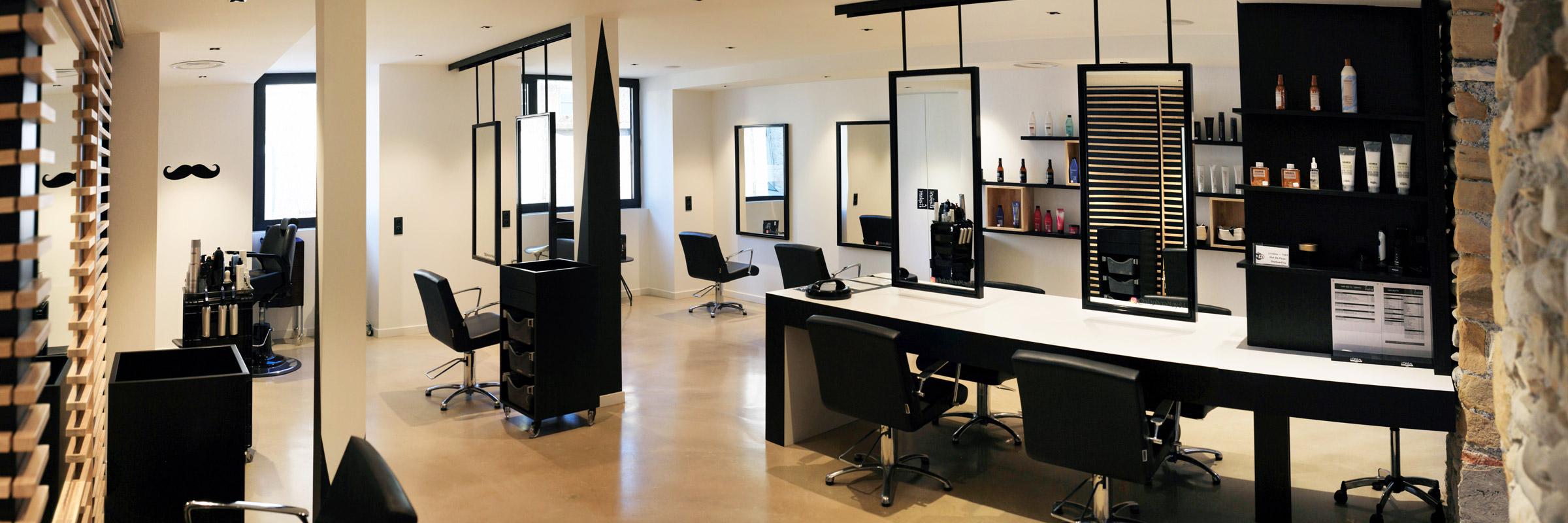 Architecture Intérieure salon de coiffure STEPHAN à Nay (64)
